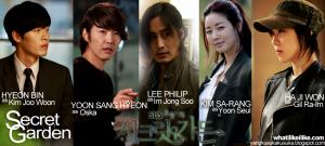 De gauche à droite : Kim Ju Woon, Oska, Im Jong Soo, Yoon Seul et Gil Ra Im