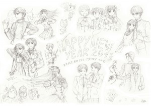 Special fanarts 2013