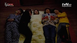 Eun Bi est malade ? Les Flower Boy sont là !