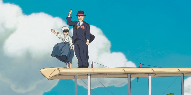 Jiro et Caproni en plein rêve