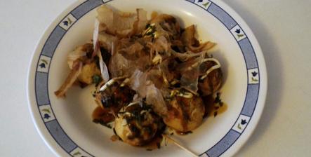 Takoyaki sans poulpe